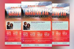 Church Convention Flyer Template from DesignBundles.net