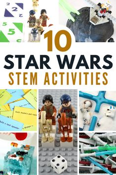 10 Star Wars STEM Activities that are Out of this World! 10 out-of-this-world Star Wars STEM Activities! The best hands-on science, technology, engineering, and math activities in cyberspace. Hands On Activities, Science Activities, Educational Activities, Disney Activities, Kid Science, Space Activities, Star Wars Classroom, Star Wars Crafts, Stem For Kids