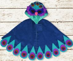 Stitch-It-Up: Sew and Tell with the Maise Cape (Peacock Version).  On sale for 25% off until October 31st!!