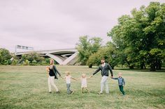 Family session at Jones Point Park in Old Town Alexandria