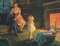 hy henry hintermeister | Welcome Little Stranger Hy Hintermeister | *Vintage* Graphics/Paintin ...