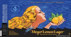 mybeerbuzz.com - Bringing Good Beers & Good People Together...: Anchor Brewing - Meyer Lemon Lager 12oz Cans