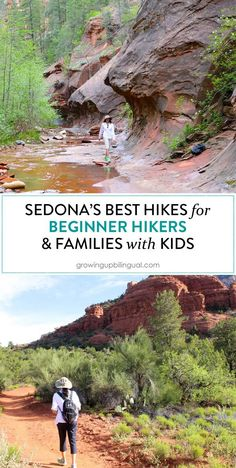 Nothing better than hiking in Sedona! Loved all of these hikes and they& ideal for beginner hikers and families with kids! Nothing better than hiking in Sedona! Loved all of these hikes and theyre ideal for beginner hikers and families with kids! Arizona Road Trip, Sedona Arizona, Visit Arizona, Arizona Travel, Phoenix Arizona, Places To Travel, Places To Go, Travel Destinations, Travel Deals