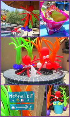 My Very PINTERESTing Project: Under the Sea Mermaid Party