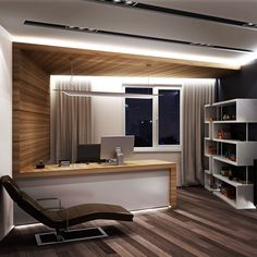 Home office decor is a very important thing that you have to make percfectly in your house. You need to make your home office decor ideas become a very awe Office Cabin Design, Small Office Design, Office Furniture Design, Office Interior Design, Home Office Decor, Office Interiors, House Design, Home Decor, Office Ideas