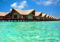 All-Inclusive Maldives & Flights Where The Sun Rises, Maldives Holidays, Travel Deals, Travel Destinations, Beach Relax, Visit Maldives, Beach Bungalows, Crystal Clear Water, Holidays And Events