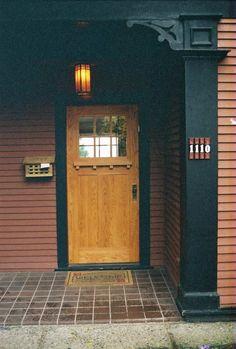 Seattle Craftsman Front Door