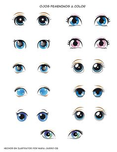 Znalezione obrazy dla zapytania ojos animados tiernos