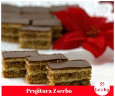 Filled with nuts and delicious chocolate, this Hungarian dessert is perfect for your Christmas table Hungarian Desserts, Mocca, Delicious Chocolate, Christmas Goodies, Traditional, Table, Food, Meal, Eten