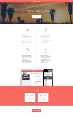 spacebox - Web design interface UI UX