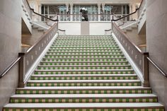 Daniel Buren at The Art Institute of Chicago Daniel Buren, Art Institute Of Chicago, Environmental Art, Sculpture Art, Stairs, Architecture, Image, Google Search, Ladders