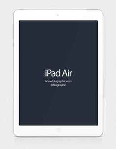 Ipad Air Mockup Free PSD File #freepsdfiles #mockups #templates #uikits
