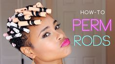 How to: Perm Rods! (TWA tapered natural hair) If your hair is natural like mine. This may work for you too...