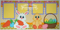 Easter Scrapbook Pages - scrapbook emporium -- too cute!