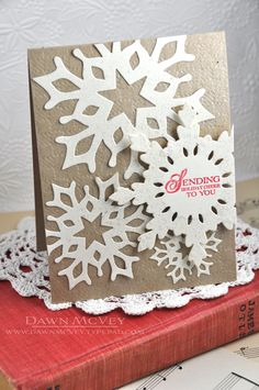 Sending Holiday Cheer Card by Dawn McVey for Papertrey Ink (September 2013)