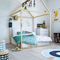 Sommerliches Schlafzimmer für Beachgirls ;) www.gofeminin.de ...
