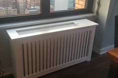Looking for a radiator cover with an opening on the top as well as an access door to turn the radiator on and off?  Look no further!  We are able to do many customizations  to make sure the cover is everything you are looking for!