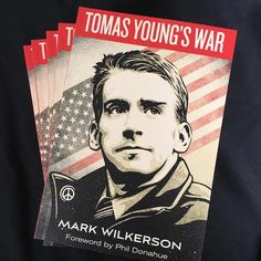 """Today is the release of """"Tomas Young's War"""" a book about the incredibly powerful journey of soldier-turned-antiwar activist Tomas Young. Young was an American military veteran of the Iraq War who enlisted in the Army two days after the 9/11 attacks.  Five days after being deployed to Iraq in April 2004 Young was shot and as a result paralyzed from the chest down. In the years following Tomas Young became an outspoken critic of the Iraq War calling on the Bush Administration and U.S. leaders…"""