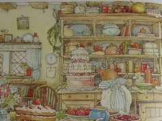Brambly Hedge book... always felt like it was so magical when I'd read it as a kid