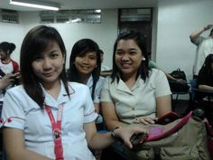 new found bff's :) i just met them this semester. its just so much fun having many friends <3 [left: Belle, sam and me]