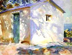 Corfu: Lights and Shadows: 1909 by John Singer Sargent (MFA, Boston, MA) - American Renaissance
