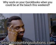 Why work on your QuickBooks when you could be at the beach this weekend? Www.siriusaccountingsolutions.com #sandiego #sandiegoconnection #sdlocals #sandiegolocals - posted by Sarah Nance https://www.instagram.com/sarahrnance. See more post on San Diego at http://sdconnection.com