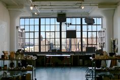 Richard Phillips' studio in New York / photo by Antony Crook