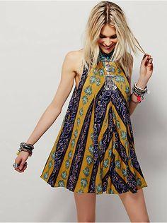 Free People Mystic Wonder Printed Dress, $128.00