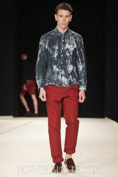 Oliver Spencer Menswear Spring Summer 2014 London