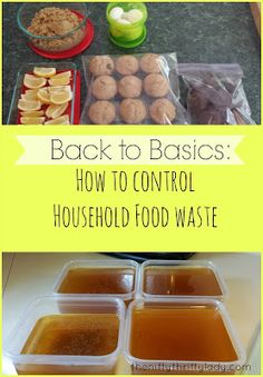 Back to Basics Saving in the kitchen by controlling household food waste. Bulk Cooking, Frozen Meals, Back To Basics, Food Waste, Cheap Meals, Budget Meals, Menu Planning, Food Items, Food For Thought