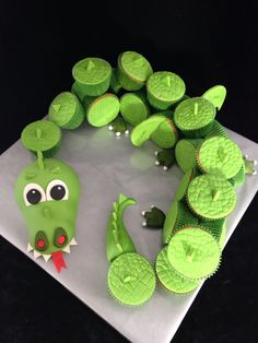Draak cupcakes