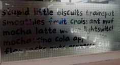 Puccinos window | Making a Marque (by Waldo Pancake)