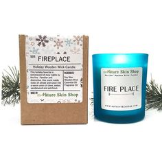 Fireplace Wooden Wick Candle 2874 End Date Tuesday Dec 25 2018 22