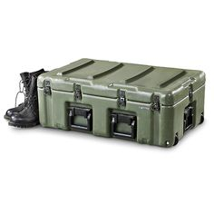 U.S. Military Surplus Hardigg Medical Chest, Used