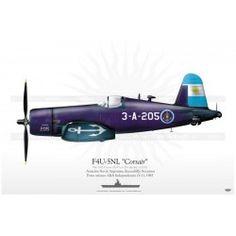 "F4U-5NL ""Corsair"" 3-A-205 Armada Argentina JP-380 Harley Davidson Online Store, Armada, Fighter Jets, Aviation, F4u Corsair, Aircraft, Navy, Origami, Models"