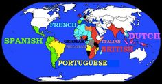 Former European Colonies
