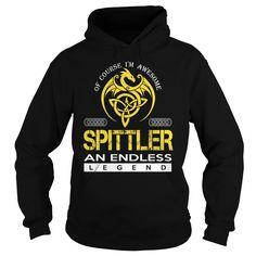 SPITTLER An Endless Legend (Dragon) - Last Name, Surname T-Shirt
