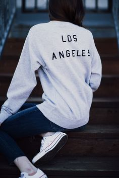 Brandy ♥ Melville | Erica Los Angeles Sweatshirt - Graphics