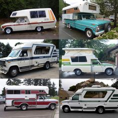 Gotta love all this Chinook vintage goodness... the coolest looking recreational vehicle! Wouldn't it be awesome if they were still around?