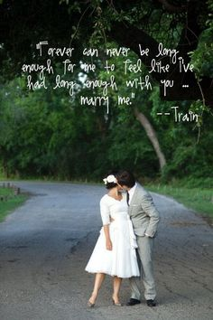 Marry me!- train
