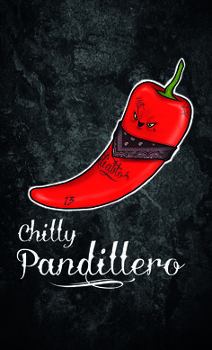 Chilly pandillero from the series FOOD MOOD by SART