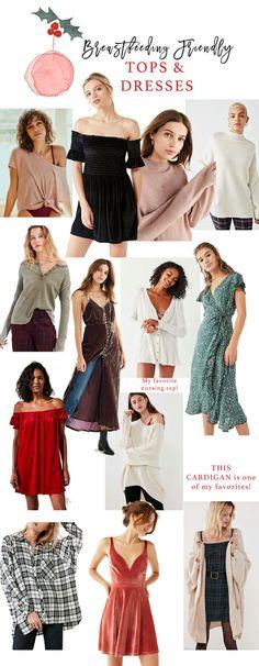 Breastfeeding Friendly Tops & Dresses for the Holiday Season // Volume 2 - Lynzy & Co.