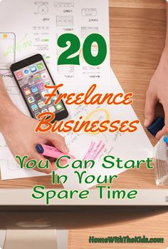 20 Freelance Businesses You Can Start In Your Spare Time. When you need flexible work, starting a freelance business is a great option. While you still face deadlines to get things done, you usually have a lot of options for when and how the work gets done. But first, you need to find the right idea to get started as a freelancer.