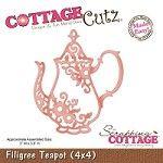 Cottage Cutz - Dies - Filigree Teapot