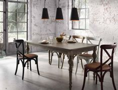 Dining chairs & kitchen chairs - Dining chair Mattutina (set of RidgevalleyRidgevalley - Furniture, Kitchen Chairs, Dining, Kitchen Table Settings, Dining Table, Dining Chair Set, Dining Table Chairs, Dining Chairs, Living Room Table