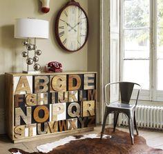 Haz que tu casa hable: decora con palabras