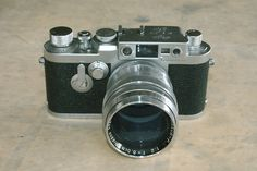 Leica III F + Nikkor-P 8.5cm,