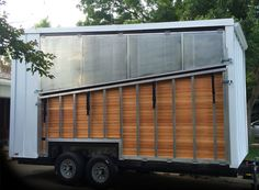 Atlas Design fold-down deck and light gauge steel frame (featured on HGTV)