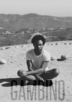 """Gambino """"I used to care what people thought, but now i care more. I mean, nobody out here's got it figured out. So therefore, ive lost all hope of a happy ending."""""""