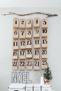 Repinned: DIY Advent Calendar